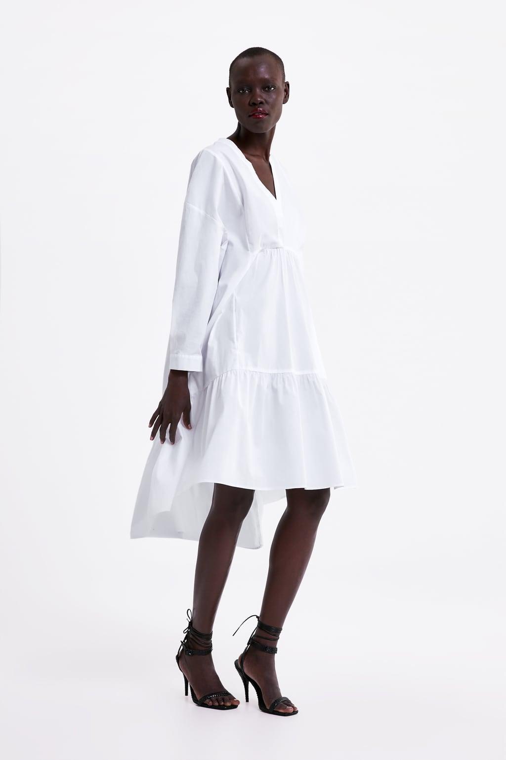 Immagine 1 di ABITO LUNGO POPELINE di Zara