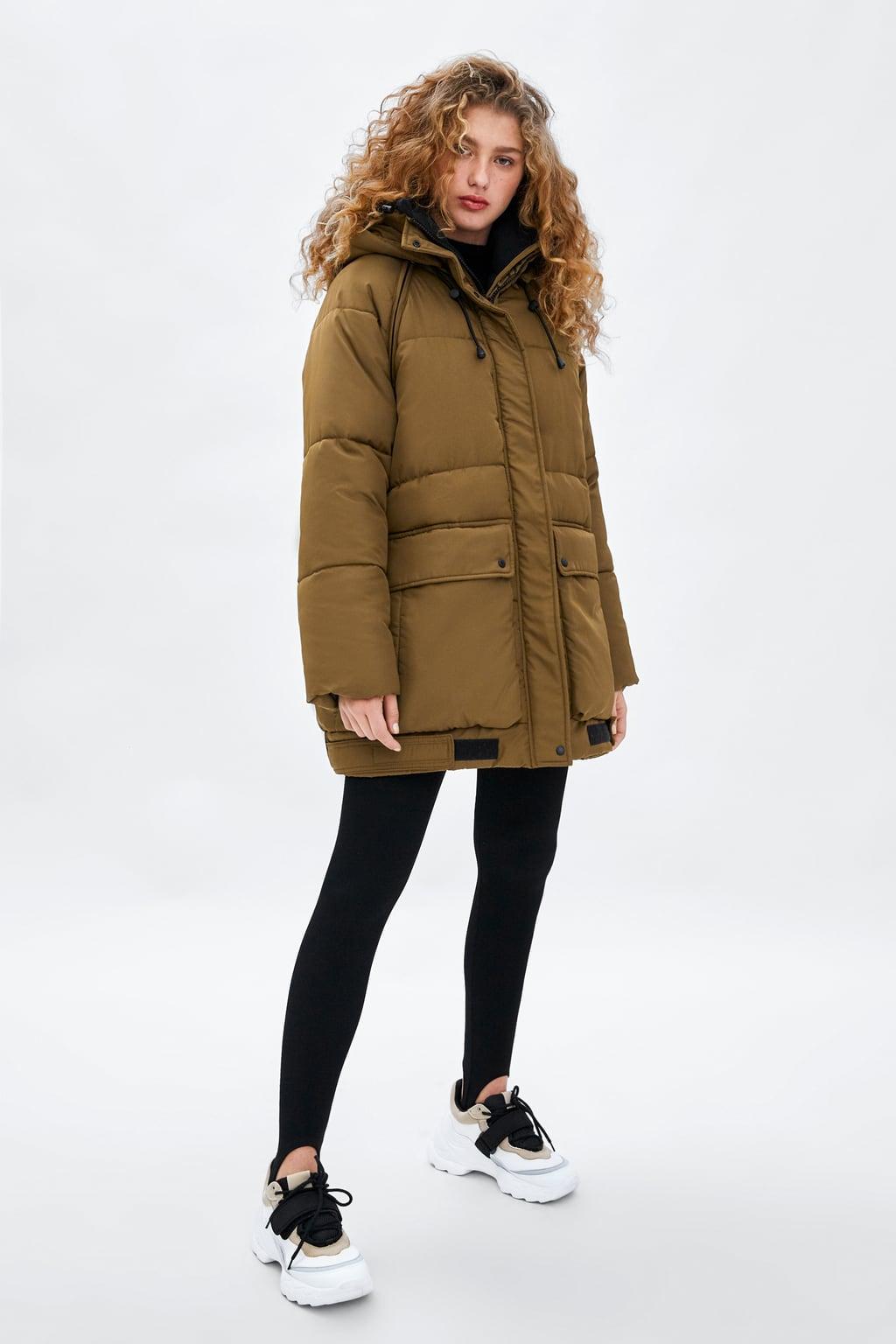изображение 2 из СТЕГАНОЕ ПАЛЬТО RECYCLED CAPSULE от Zara