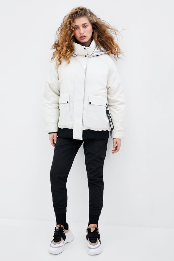Recycled Capsule Padded Bomber  View All Outerwear Trf by Zara
