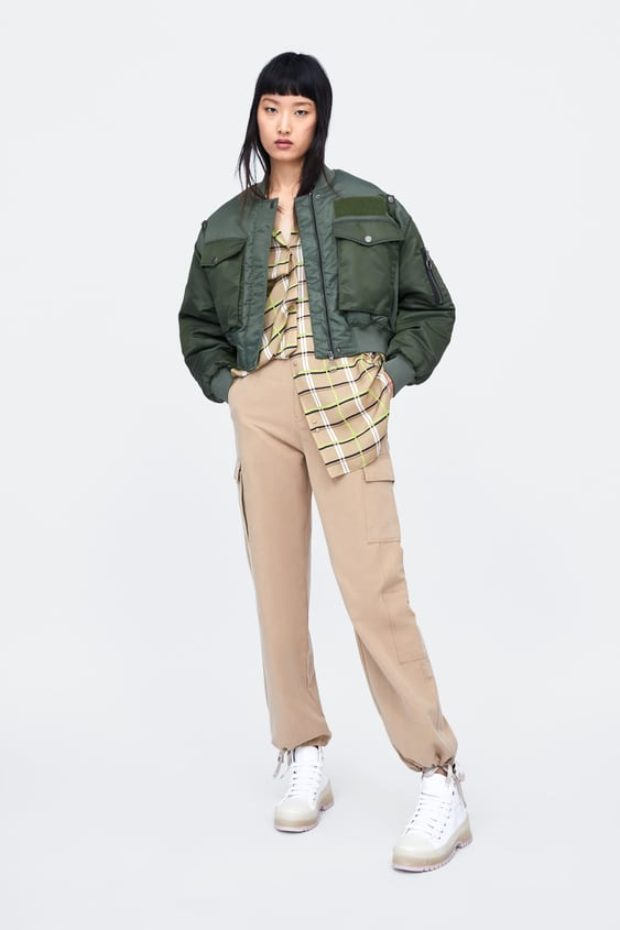 ddd0dd002e8cc Image 1 of OVERSIZED CHECK SHIRT from Zara