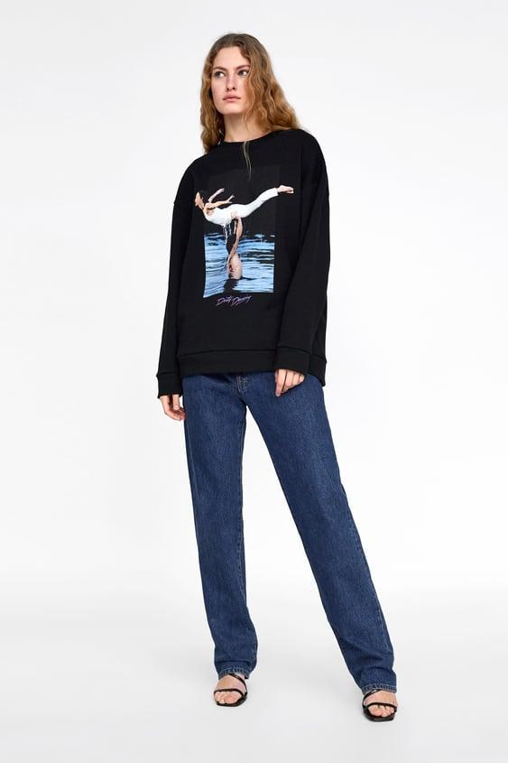 """Bluza """"Dirty Dancing""""® Zobacz Więcej T Shirty Kobieta New Collection by Zara"""