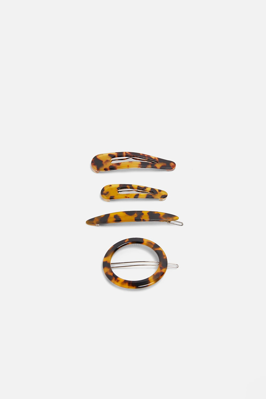 Image 1 of PACK OF ACETATE HAIR CLIPS from Zara