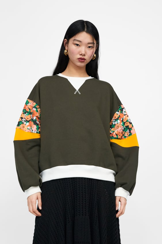 7291dc6ba2cd0 Women's Sweatshirts | Online Sale | ZARA Germany