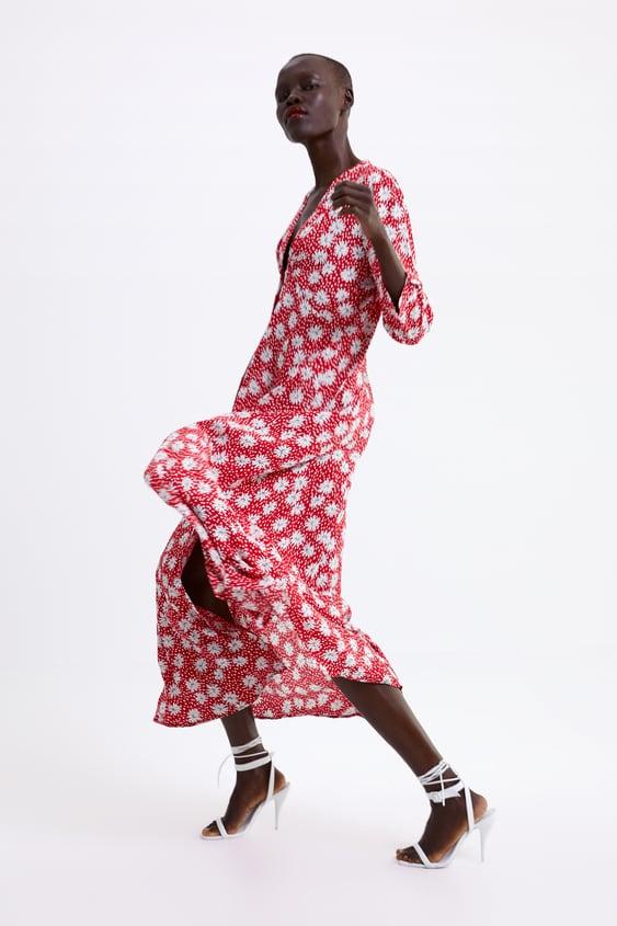 Floral Print Dress  New Inwoman by Zara