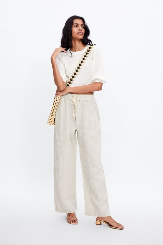 b5f0261b Women's Palazzo Trousers | Online Sale | ZARA United Kingdom