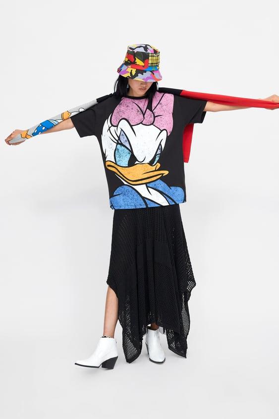 T  Shirt Daisy ©DisneyÚltima Semana Mulher New Collection by Zara