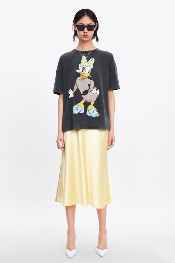 ©Disney Daisy Duck T  Shirt View All T Shirts Woman by Zara