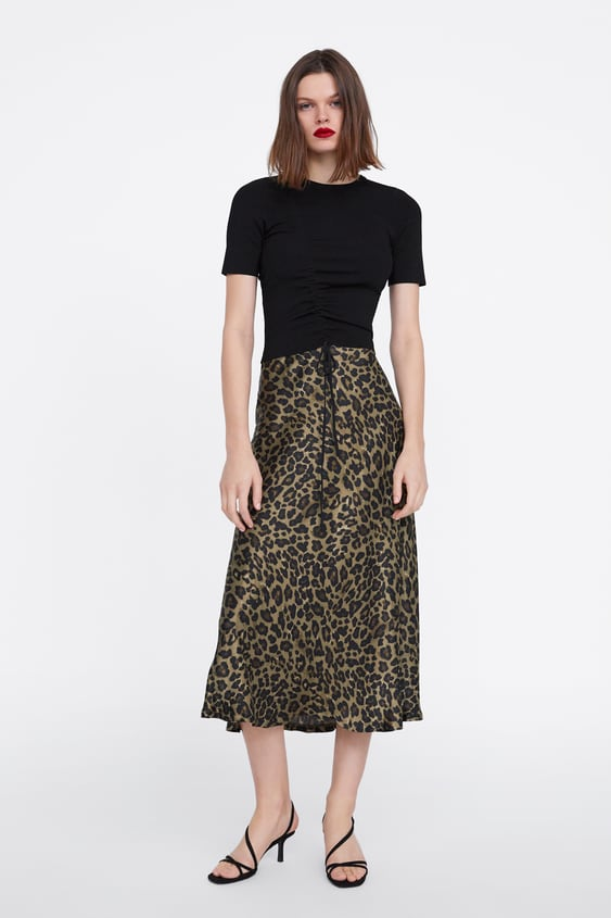 authentic where to buy online ANIMAL PRINT SKIRT