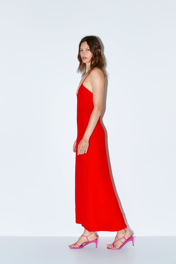 62d9d0a3c2 LIMITED EDITION LONG STRAPPY DRESS
