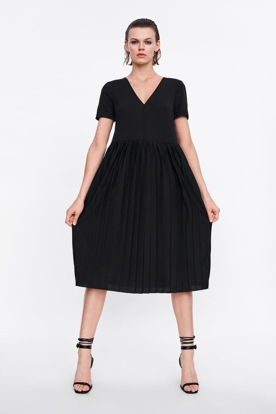 bd1e655b PLEATED DRESS - View All-DRESS TIME-WOMAN-CORNER SHOPS-SALE | ZARA ...