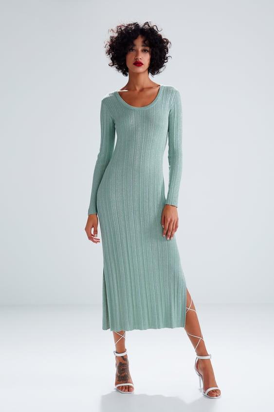 74a164ae METALLIC THREAD DRESS - View All-DRESS TIME-WOMAN-CORNER SHOPS-SALE ...