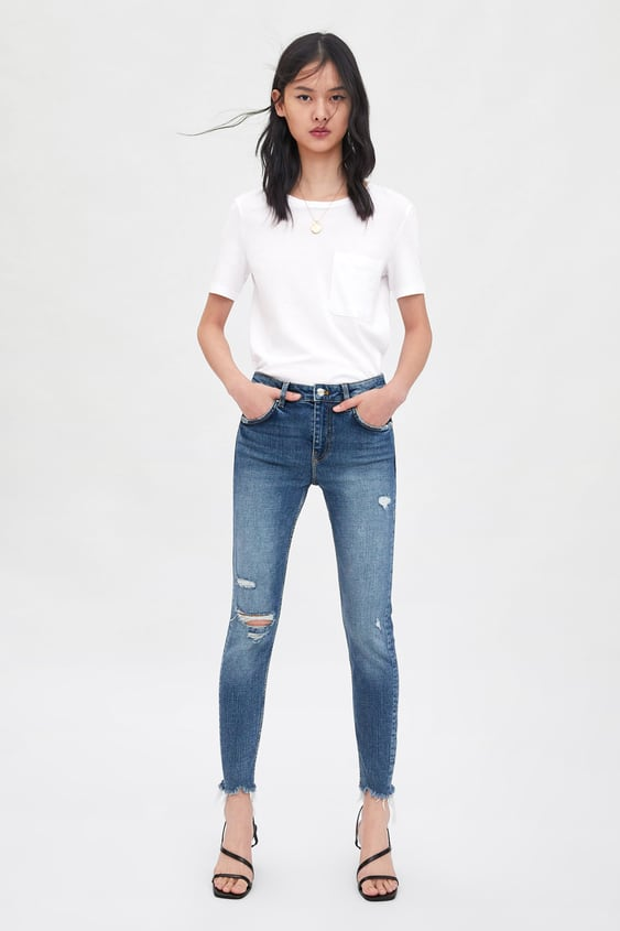 07f87dc1ad2 MID - RISE SKINNY COMPACT JEANS-Skinny-JEANS-WOMAN-SALE | ZARA ...