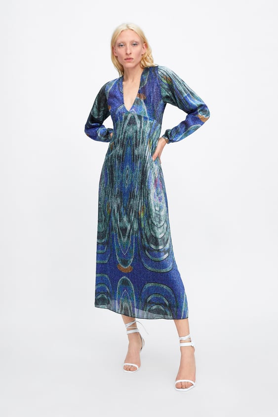 ca05b26a LIMITED EDITION DRESS WITH METALLIC THREAD - View All-DRESS TIME ...