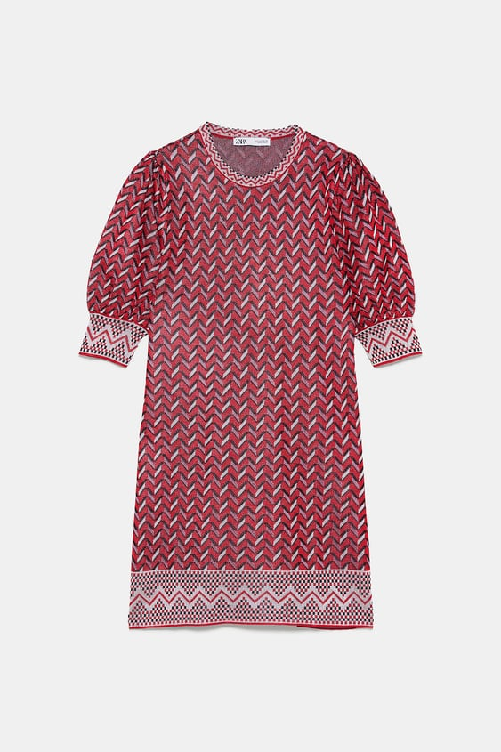 3f0077480d18 JACQUARD MINI DRESS - DRESSES-WOMAN | ZARA United States