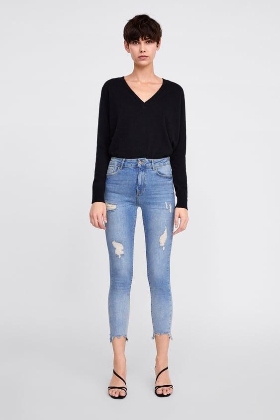 b62d4f55bbd23 Jeans skinny pour femme   Nouvelle Collection en ligne   ZARA France