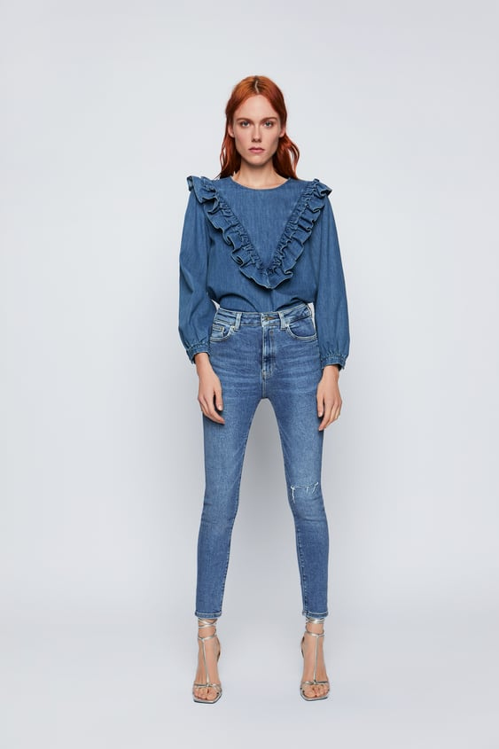 3830c4b0 JEANS '80S HIGH WAIST VENICE BLUE - JEANS-WOMAN-NEW COLLECTION ...