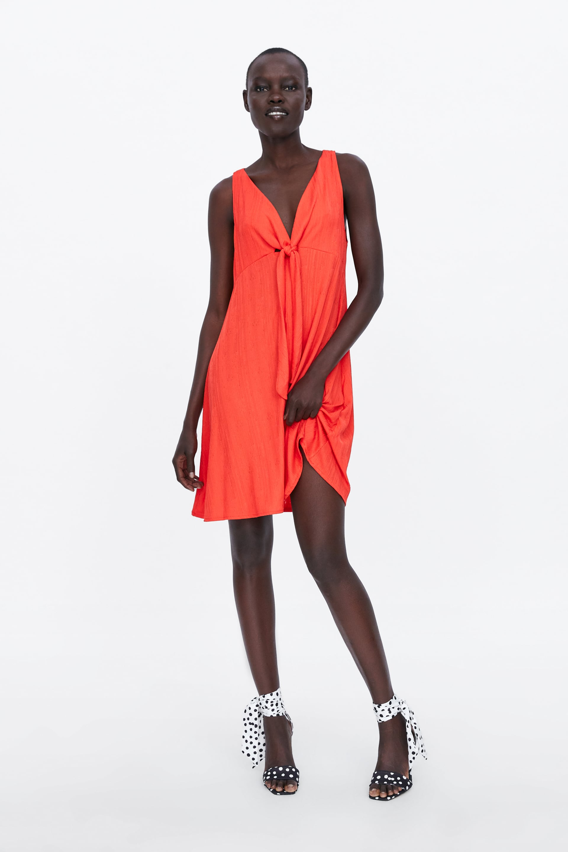0e0b7635 Black Floral Midi Dress Zara