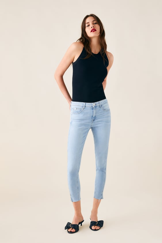a557dc255a2 Z1975 JEANS WITH VENTED HEMS