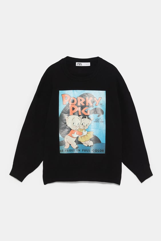 befcfb165ad WARNER BROS PORKY PIG SWEATER - Sweaters-KNITWEAR-WOMAN