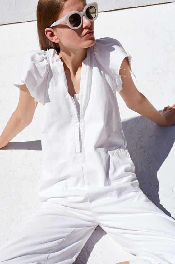 35e0a19f03e Image 2 of RUSTIC JUMPSUIT from Zara