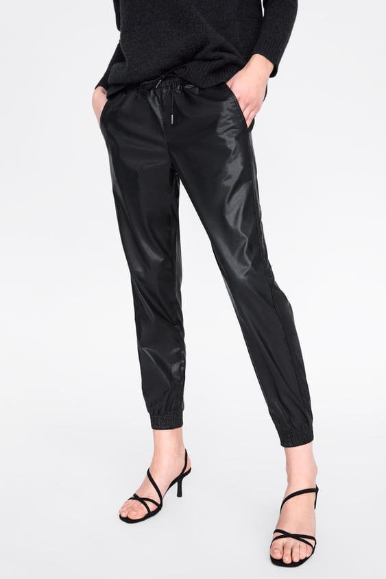f7603bf7 TROUSERS ZW PREMIUM JOGGER FAUX LEATHER