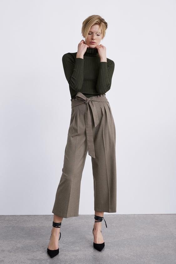 sobornar auténtico los más valorados llega Shoptagr   PantalÓn Culotte Cuadros Culottes Pantalones ...