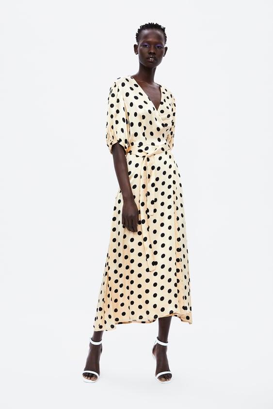 e9b6ad9b POLKA DOT WRAP DRESS - View All-DRESS TIME-WOMAN-CORNER SHOPS-SALE ...