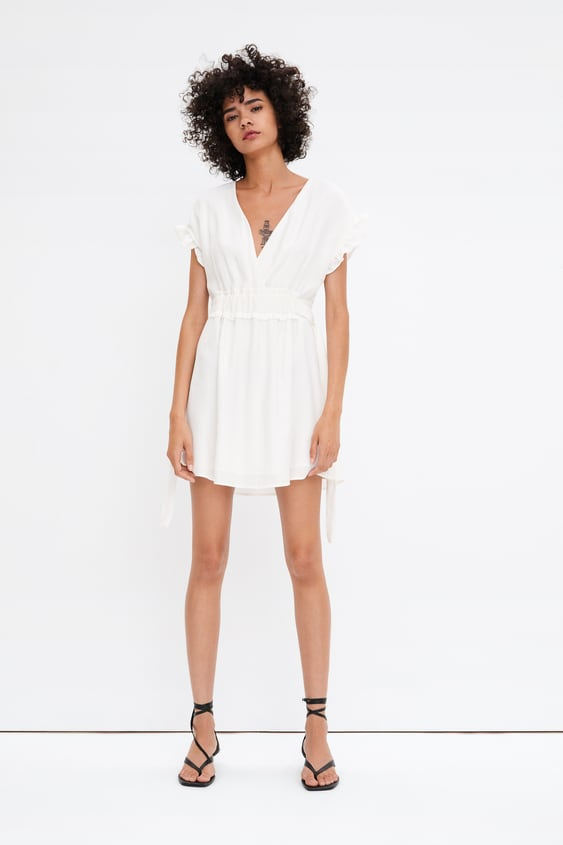 a79b070a Shoptagr | Dress With Bows Mini Dresses Woman by Zara