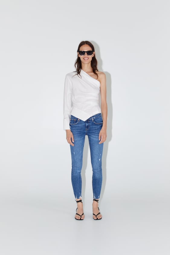 3e12b50d Women's Skinny Jeans | New Collection Online | ZARA India