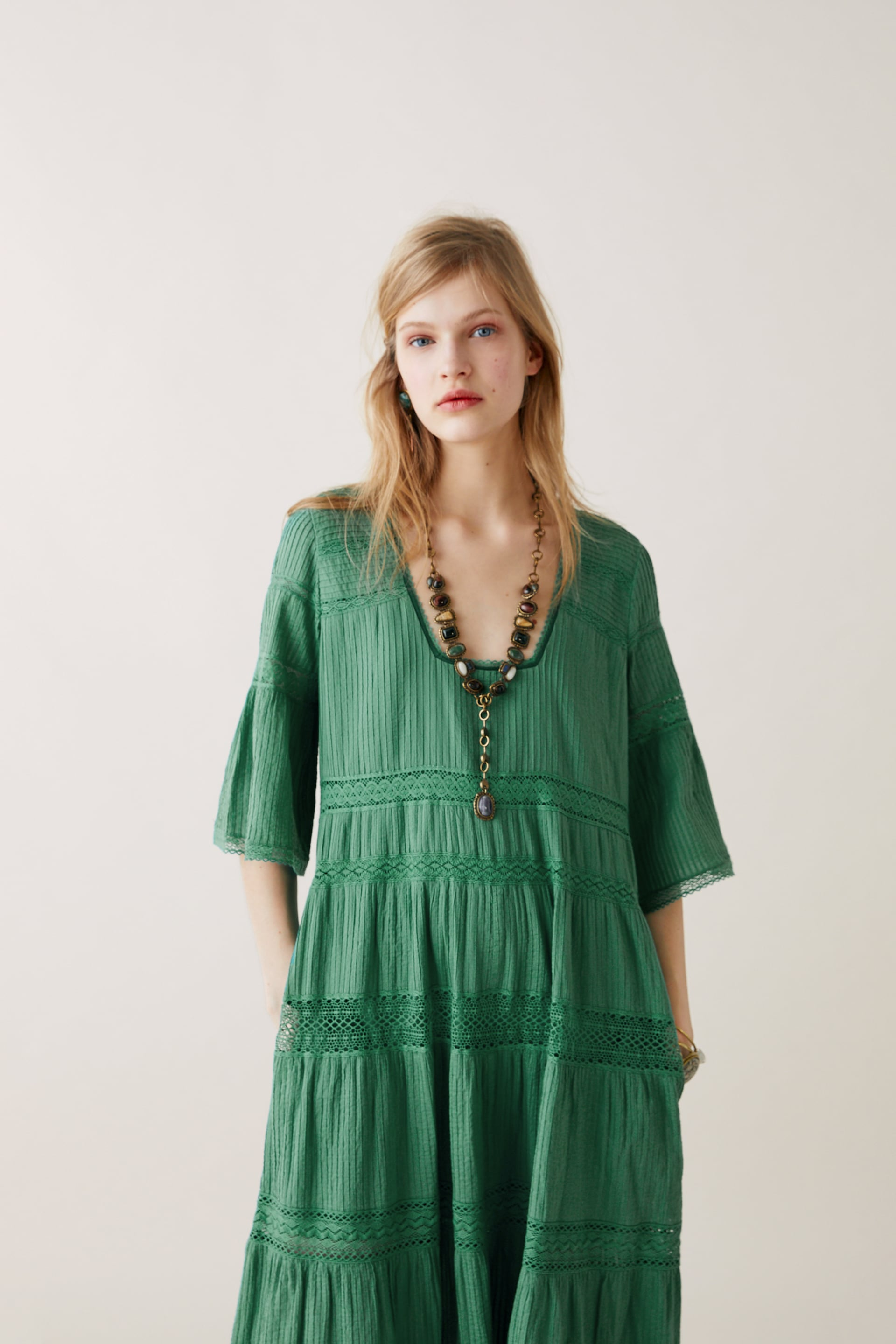 694105dd7b0 LIMITED EDITION ZARA STUDIO EMBROIDERED DRESS - View all-DRESSES ...