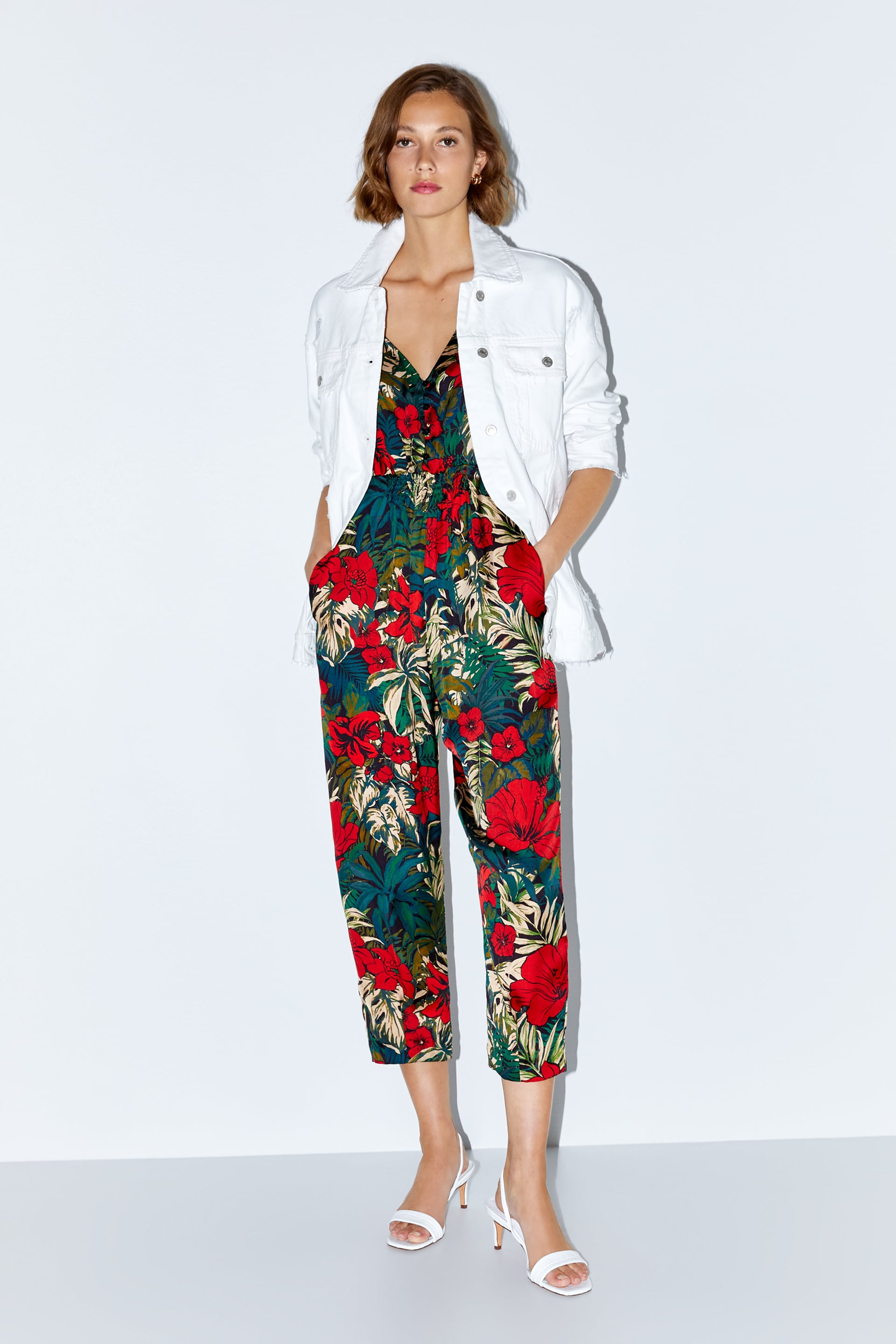 f0ac17dd TROPICAL PRINT JUMPSUIT - FLORAL-SHOP BY COLLECTION-WOMAN | ZARA ...
