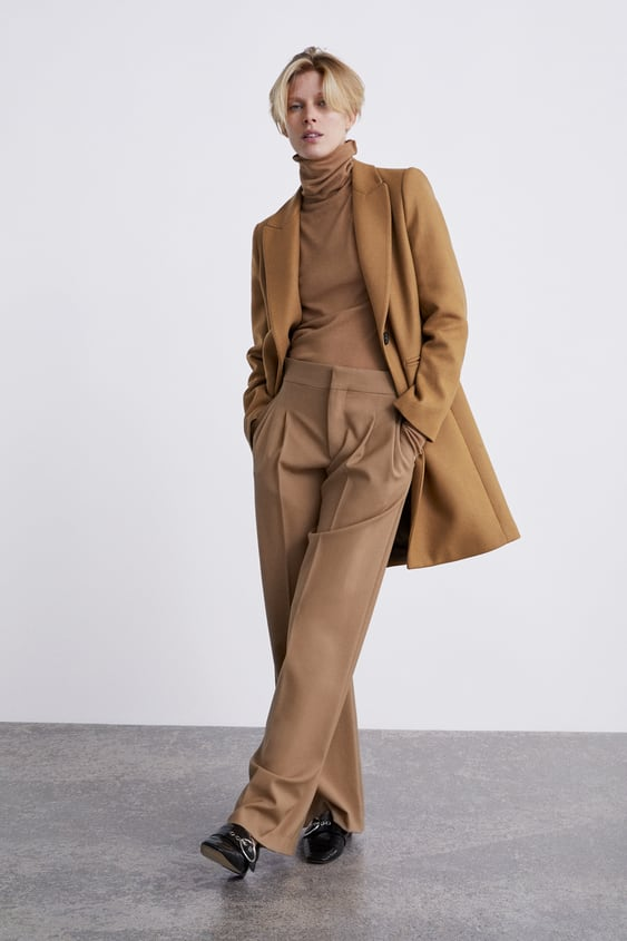 Masculine Coat View All Coats Woman New Collection by Zara