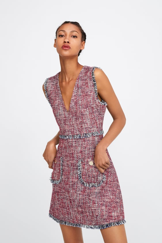 nueva llegada Página web oficial conseguir baratas TWEED DRESS
