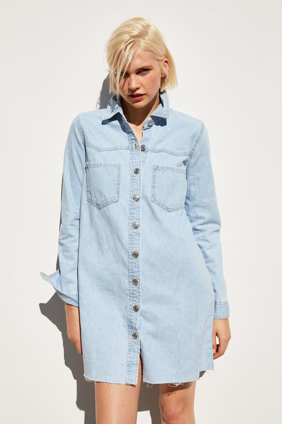 f88e3c87 DENIM MINI DRESS - Mini-DRESSES-WOMAN-SALE | ZARA United States