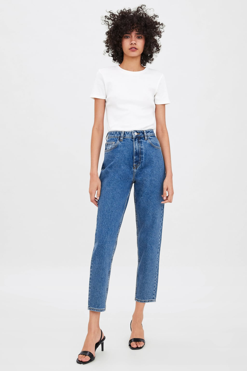 Authentic Denim Mom Fit Jeans View All Jeans Trf New Collection by Zara