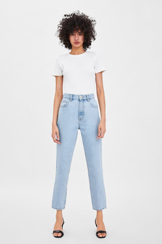 Authentic Denim Mom Fit Jeans  Jeanswoman New Collection by Zara