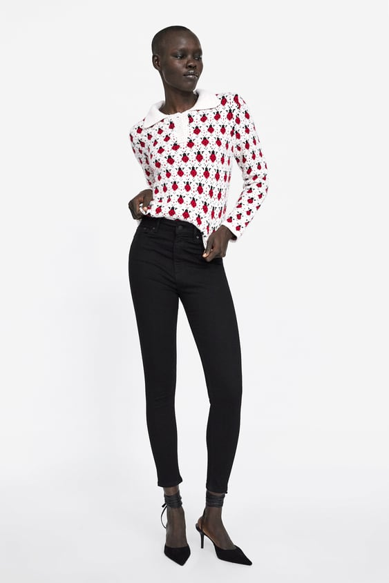 Jeans Zw Premium High Waist Revolve Black  View All Jeans Woman New Collection by Zara