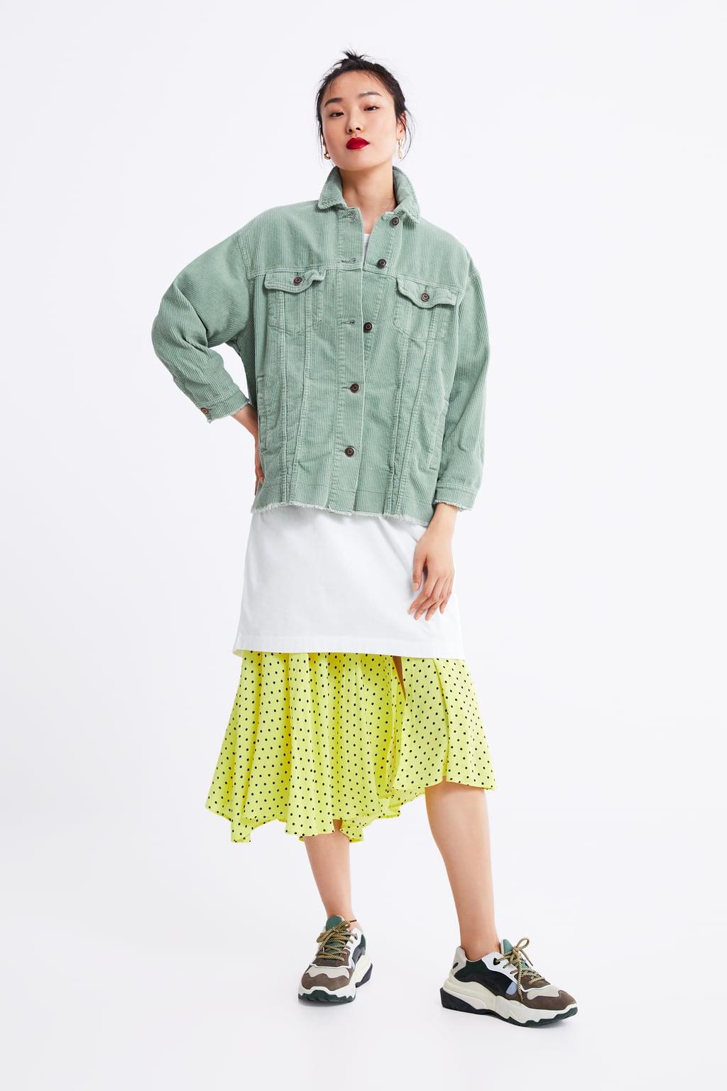 online para la venta descuento especial de excepcional gama de estilos chaqueta verde militar mujer zara ropa y accesorios verde ...