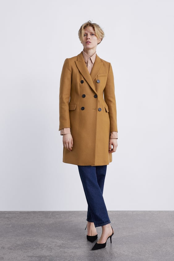 various colors limited price best DOUBLE-BREASTED COAT