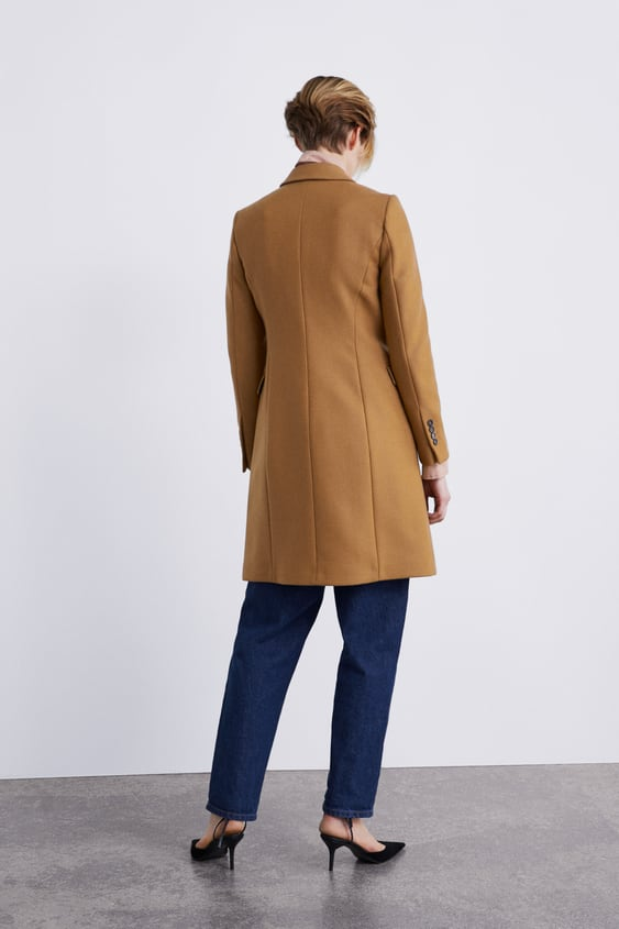 2f4efd98 DOUBLE-BREASTED COAT
