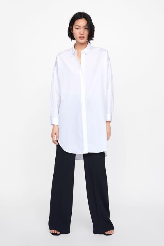 Oversized Poplin Shirt  Neudamen New Collection by Zara