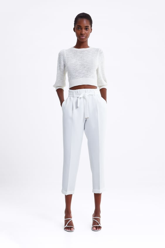 Belted Trousers  New Inwoman by Zara
