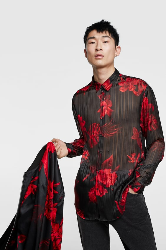 0d046a5ea Men's Printed Shirts | Online Sale | ZARA United States