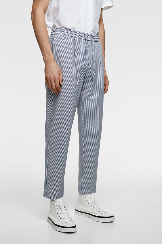 377acb88e4b SEERSUCKER JOGGING PANTS - Item available in more colors
