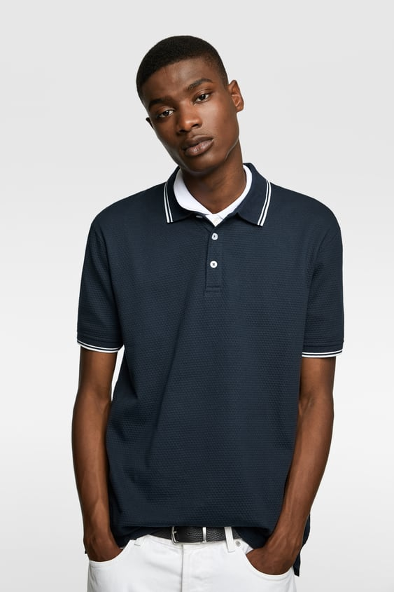 d31969d5 Men's Polo Shirts | New Collection Online | ZARA United States