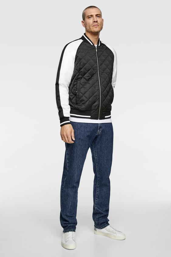 c2e60d9773 Men's Bomber Jackets | New Collection Online | ZARA Canary Islands