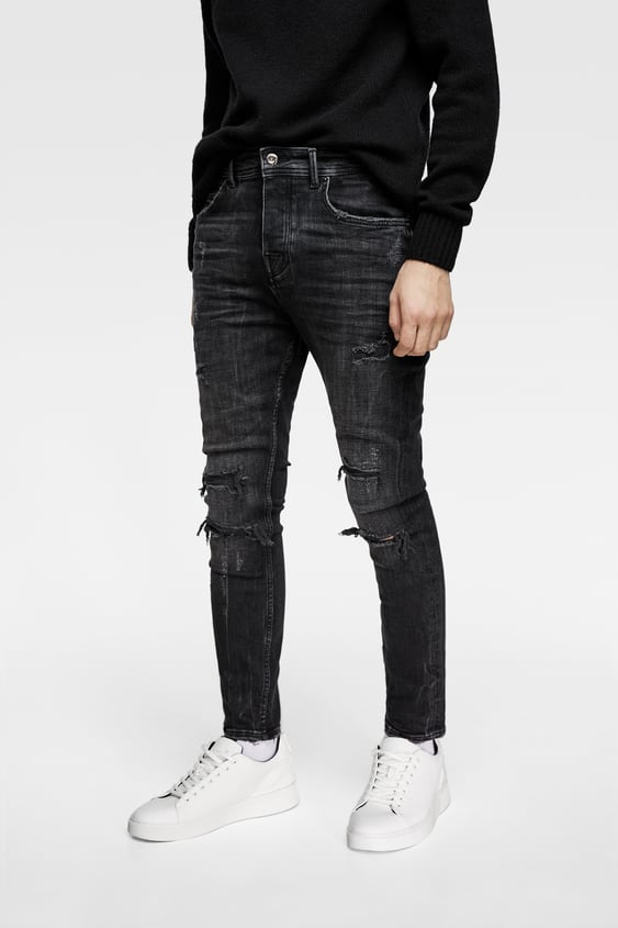 6a76010c Men's Carrot Fit Jeans | New Collection Online | ZARA India