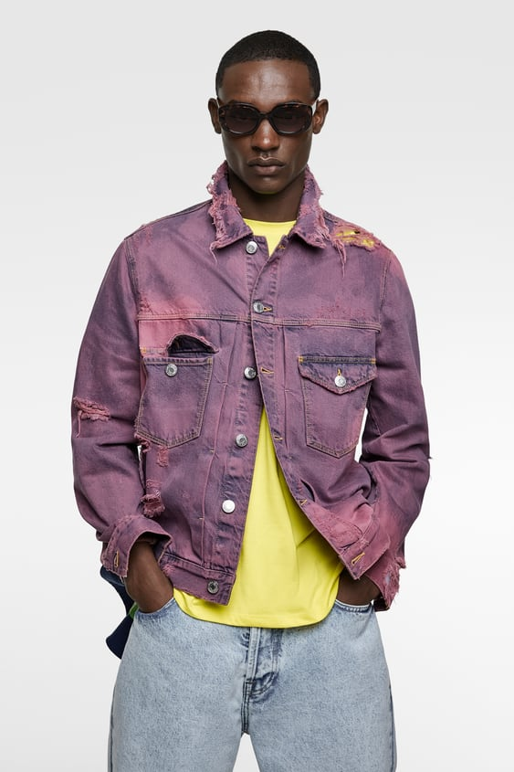 c1ab1c67 Men's Denim Jackets | Online Sale | ZARA United Kingdom