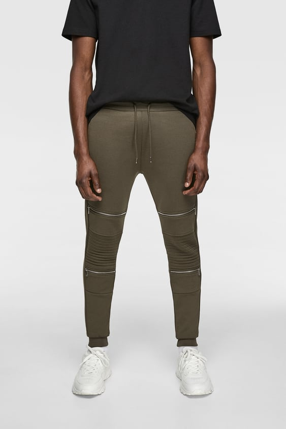4b36bbe5c58d JOGGER BIKER TROUSERS - Available in more colours