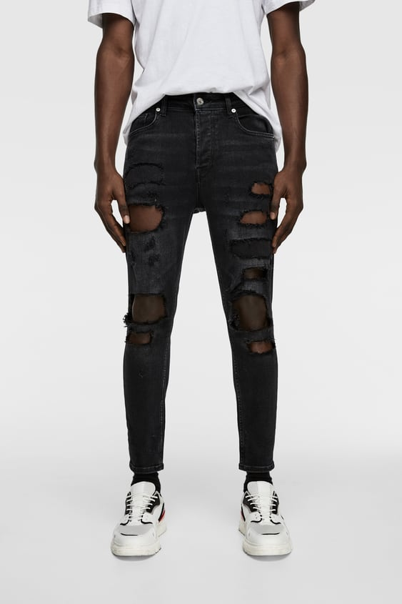 87b994d93d RIPPED SKINNY JEANS - Available in more colours